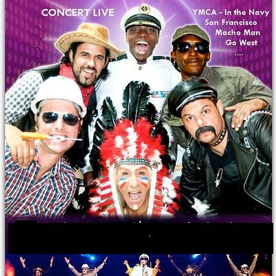 DOSSIER COMPLET TRIBUTE TO VILLAGE PEOPLE TOUR 2016
